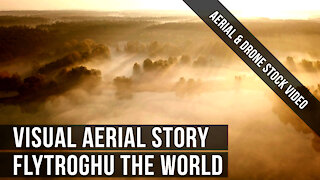 FlyTroghu the world...! Drone aerial footage. Visual sequence for your eyes.