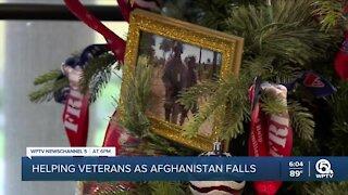 Veteran mental health a concern following fall of Afghanistan