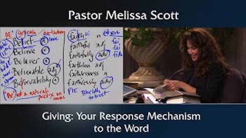 Galatians 6:6 Giving: Your Response Mechanism to the Word