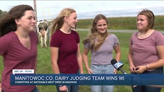 Meet the best 2021 dairy judging team in Wisconsin