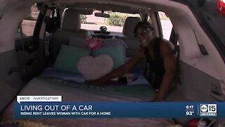 Valley senior living in car after rent increase