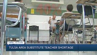 Tulsa Area Substitute Teacher Shortage