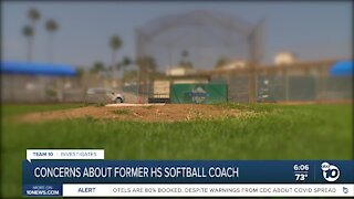 Concerns about former South Bay high school softball coach
