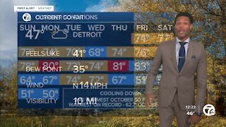 Cool and dry days ahead
