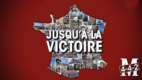 Manifestation dans toute la France jusqu'à la victoire !