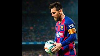 Messi penalty kick.