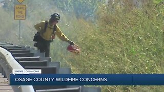 Osage County Wildfire Concerns