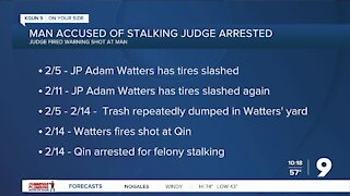Man accused of stalking Pima County judge arrested