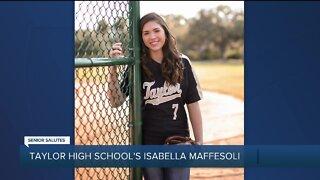 WXYZ Senior Salutes: Taylor High School's Isabella Maffesoli
