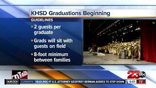 KHSD graduations beginning Monday