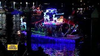 Downtown Tampa boat parade tonight