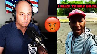 VIRAL TRUMP SUPPORTER DEMANDS ANSWERS FROM BIDEN VOTERS!