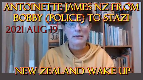 2021 AUG 19 NZPP Taupō with Antoinette James NZ from Bobby (Police) to STAZI New Zealand WAKE UP