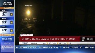 6.5-magnitude earthquake strikes Puerto Rico early Tuesday