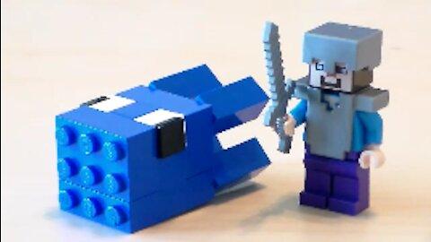 Lego Minecraft Squid Tutorial