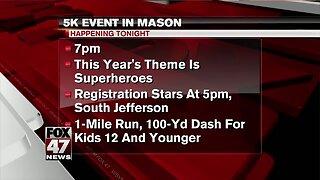 Mason 5K happening Friday