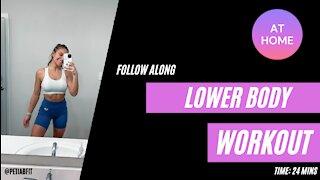 LOWER BODY follow along workout