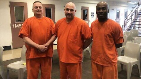 Inmates Helps Save Officer's Life