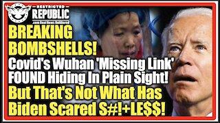 BREAKING BOMBSHELLS! Covid's Wuhan 'Missing Link' FOUND Hiding In Plain Sight! Biden Now Terrified!