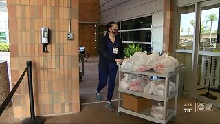 TGH first responders receive meals from local restaurants