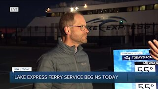 Lake Express Ferry Service begins Friday