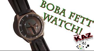 Boba Fett Watch Unboxing