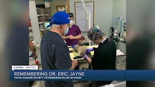 Tulsa Humane Society veterinarian killed in crash