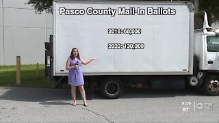 Record number of mail-in ballots being sent out in Tampa Bay area counties