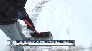 Shoveling can impact heart health