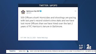 FOP responds to Baltimore City crime wave