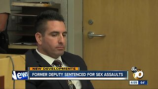 Former San Diego deputy sentenced for sex assaults