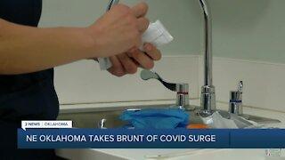 NE Oklahoma takes brunt of COVID surge