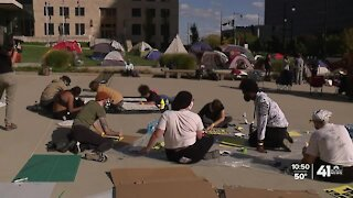 Protesters occupy KC City Hall