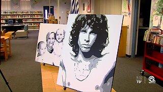 Local Artist pays tribute to Kobe Bryant
