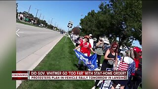 People planning to protest Governor Whitmer and her Executive Orders on Wednesday