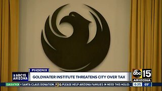 Goldwater Institute threatens City of Phoenix over tax