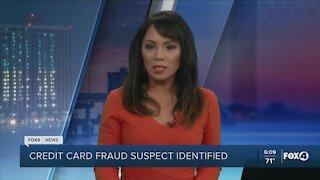 Credit card fraud suspect identified