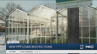 PPP loan restrictions for small businesses