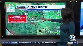 Semi crash on Beeline Highway closes southbound lane