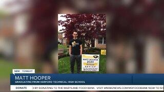 Class of 2020 Senior Spotlight: Matt Hooper of Harford Technical High School