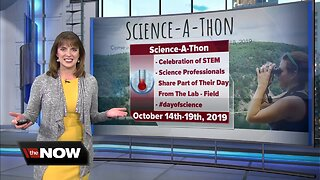 Geeking Out about Science-A-Thon this week