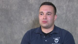 Son of slain Lincoln officer training to join the police
