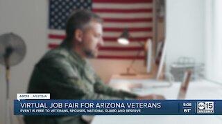 Virtual job fair for Arizona veterans