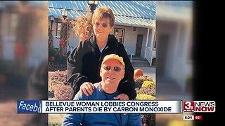 Bellevue woman lobbies congress after parents die by carbon monoxide