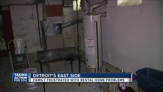 Family frustrated with rental home problems