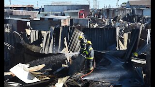 Almost 200 shacks have been burnt by fire