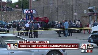 KCPD: Officer shoots armed suspect during drug investigation