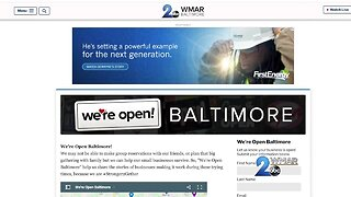 We're Open Baltimore