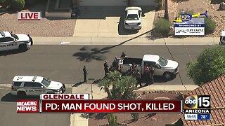 Man shot, killed in Glendale