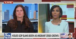 Sarah Sanders EVISCERATES Biden's Open Border Policy